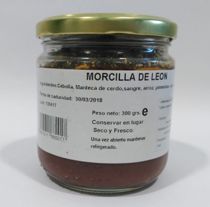Morcilla de León - Matachana