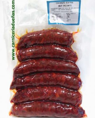 chorizo-muy-picante-carniceria-dueñas-asturias